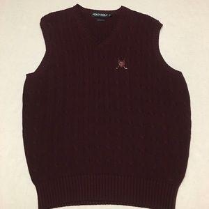 Vintage polo ralph lauren golf logo crest sweater